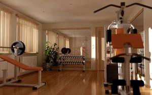 小型健身房装修效果图