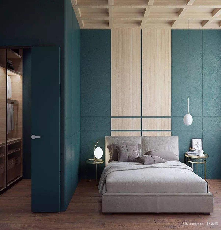 两居室现代时尚衣帽间效果图