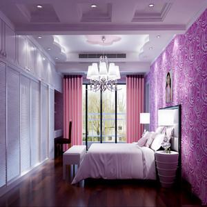 现代法式卧室装修图