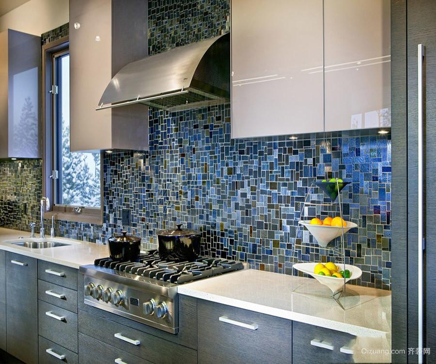 2018家装厨房瓷砖效果图大全