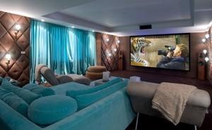 时尚精美蓝色家居设计装修效果图赏析