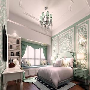 法式卧室装饰墙效果图大全