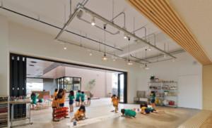 自然清新日式风格幼儿园装修效果图赏析