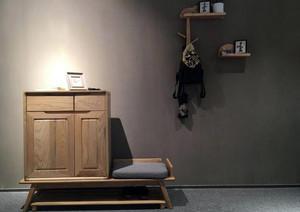 一居室小户型进门鞋柜装修效果图