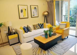 50平米小户型田园风格客厅装修大全