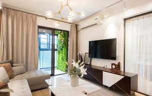 现代简约风格客厅设计装修效果图