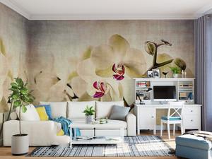 电视背景墙墙绘图片