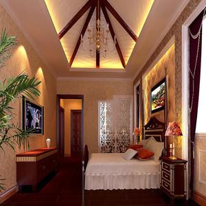 一居室法式卧室装修效果图