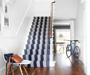 复式田园风楼梯装修效果图