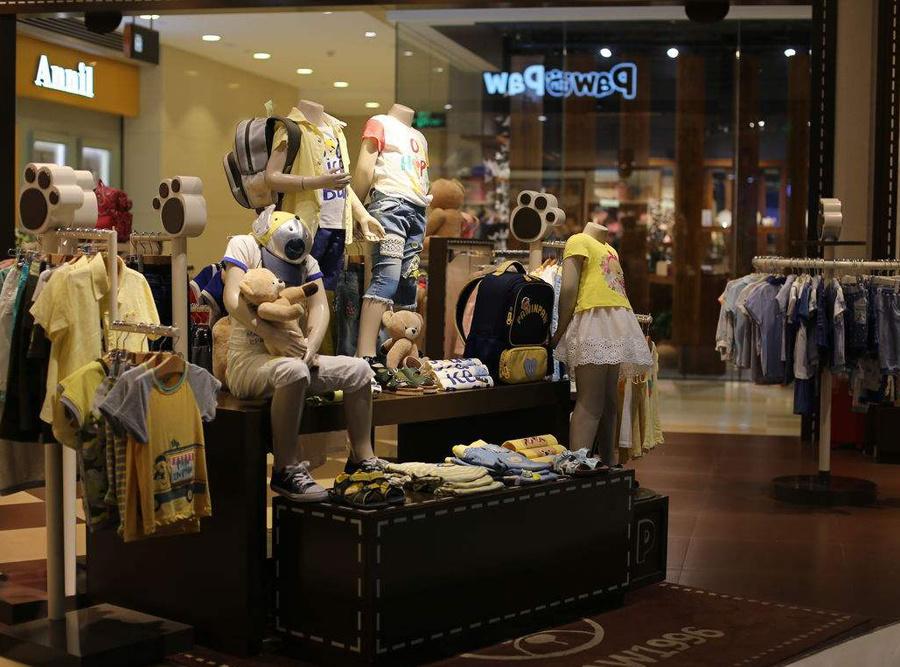 韓國童裝店鋪裝修風格