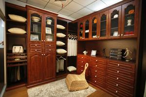 衣帽间整体衣柜小户型装修案例