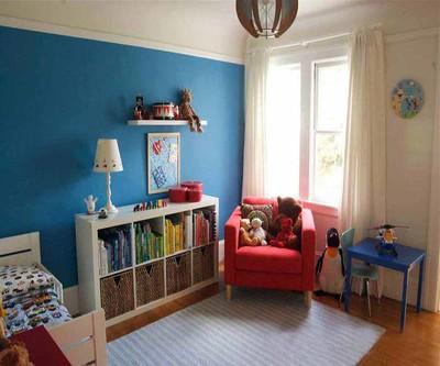儿童房间书柜效果图