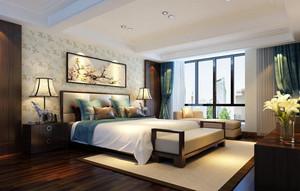 新中式风格飘窗改造效果图欣赏