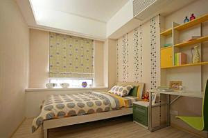 70平米后现代小飘窗卧室设计效果图
