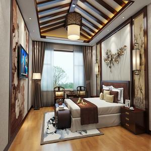 日式睡房装修效果图