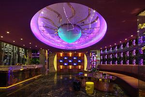ktv大厅紫色装修效果图