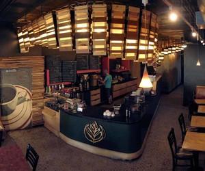 美式乡村风格咖啡馆