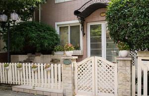 别墅花园栅栏装修效果图