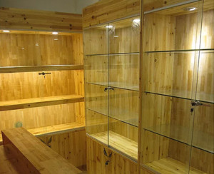 木工打的酒柜图片大全