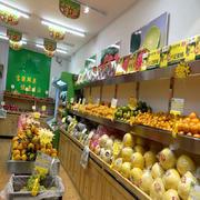 小型水果店装修与摆设效果图
