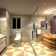 欧式小卫生间装修图