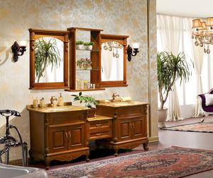 欧式浴柜装饰图片大全