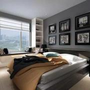 利用飘窗做床效果图欣赏