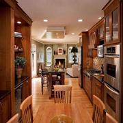 客厅现代局部一居室装修