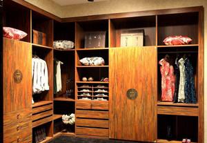 中式衣柜复古衣帽间案例