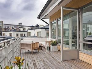 顶楼阳台设计效果图