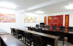 社区会议室装修效果图