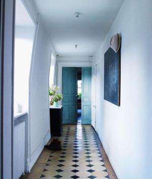 室内1.2米走廊地砖造型效果图