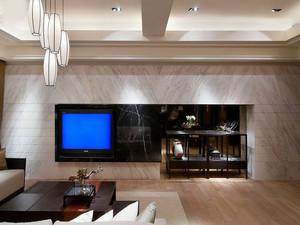 欧式大理石电视背墙效果图