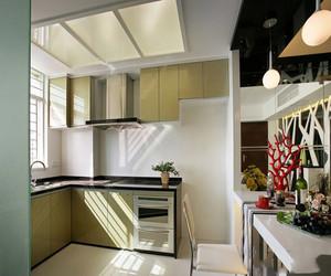 小户型开放式厨房图片
