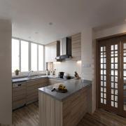 日式厨房装修风格图片