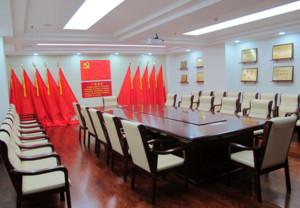党建会议室装修效果图赏析