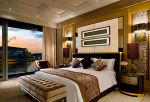 经济型酒店客房精致装修图