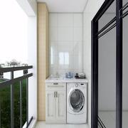 洗衣机柜子效果图大全