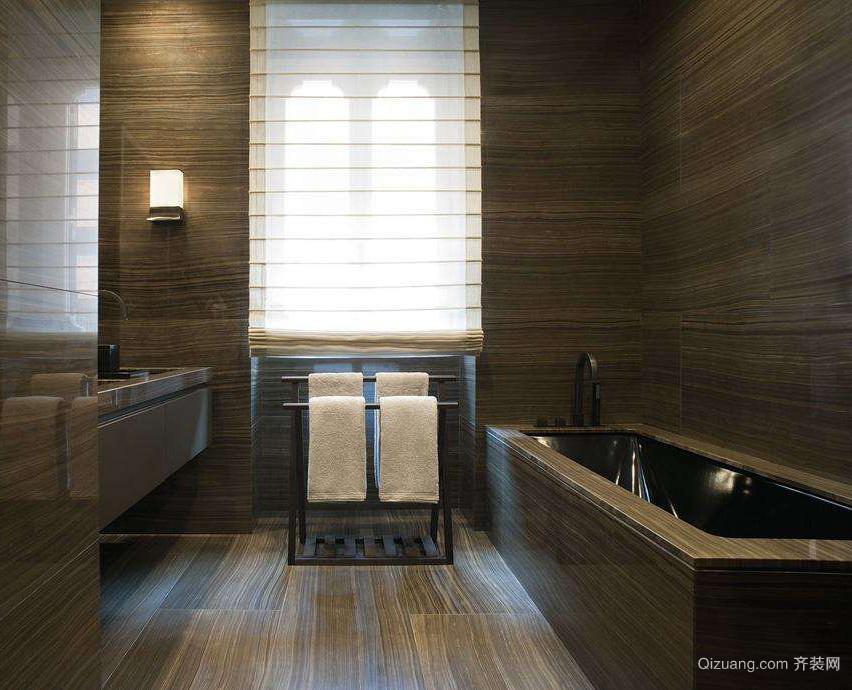 卫生间卷帘窗帘效果图