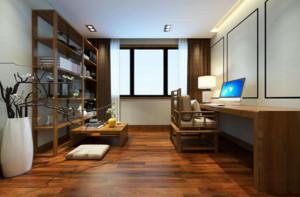 新中式书房装修效果图赏析