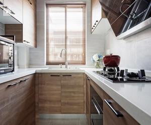 日式清新原木风格厨房装修