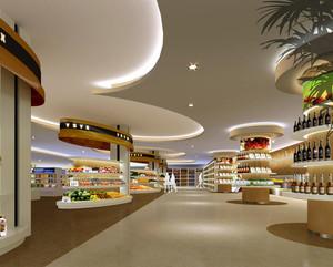 50平米超市设计效果图