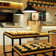 小型甜品店装修效果图