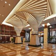酒店大厅吊顶装修效果图