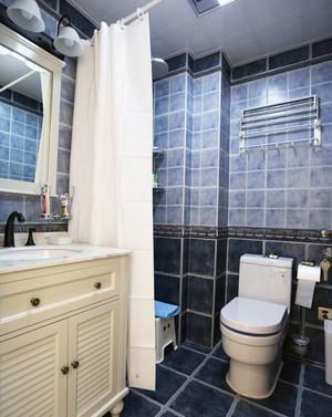 卫生间浴帘隔断效果图