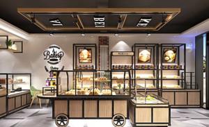 整个面包店的装修设计是以简约自然的风格,简约但不简单,就比如地板、墙面的设计,可以看出设计上的用心程度,整个空间的也是非常的敞亮。