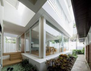 美式入户花园顶棚造型