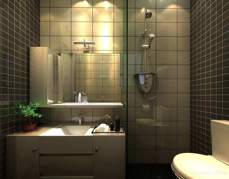 卫生间装修效果图小户型整体卫浴