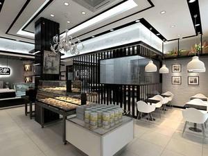 欧式面包店装修效果图