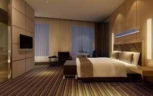 酒店客房装修不吊顶装修效果图